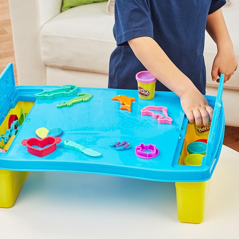 Diy Toy Platen 1pc U Type Acrylic Clay Children Education 10X10X0.3cm Mud Board