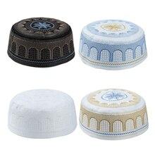 Hat Embroidery India-Caps Muslim-Hats Balaclava Ski-Mask The Cotton Turban Slump Arab