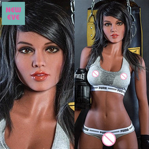 Image 1 - 166cm (5.45ft) Silicone Sex Doll for Men Masturbation Slender Sport Girl with Small Breast Mixed Blood Drop Shipping