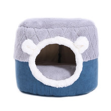 Morbido letto per gatti casa inverno caldo dormire Pet Dog Bed Pet Mat Warm Cave Kennel per Dog Puppy Home Sleeping Kennel Dropshipping