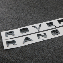 Sticker Trunk Logo Metal For Land Rover RANGE ROVER Car Styling