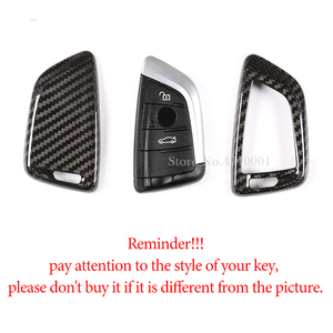 Image 4 - Car Key Shell Modification Cover,Real Carbon Fiber,Key Case,for BMW 3 5 Series X1X2X3X4X5X6 G20 G30 G31 F48 F39 G01 G02 G05 F16