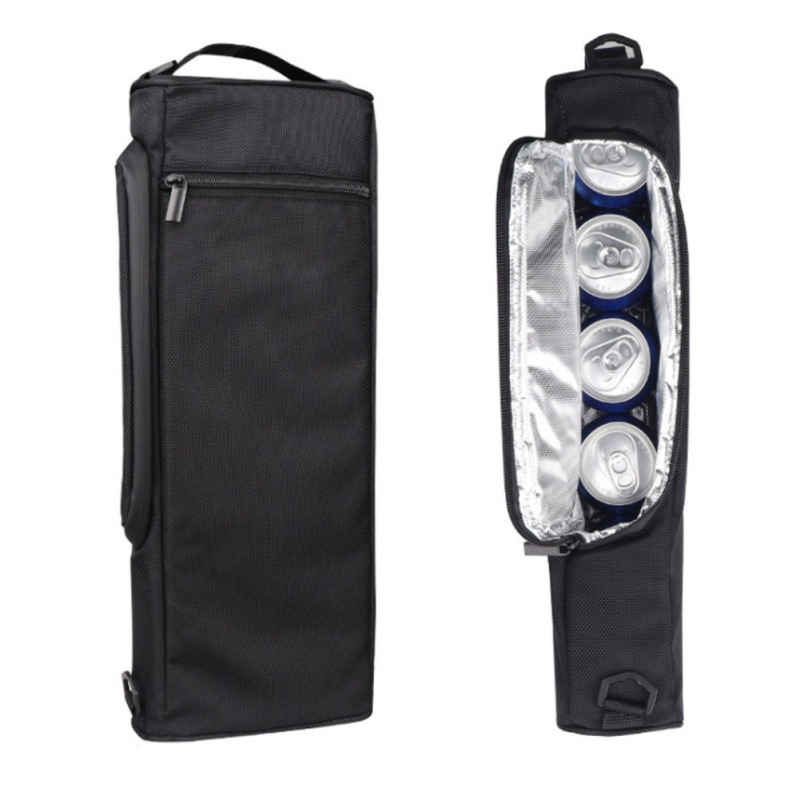 Camping Freezer Insulated Cooling Bag Compact Golf Cooler Bag Insulated Bag Case Pack Tote Handbag With Shoulder Strap