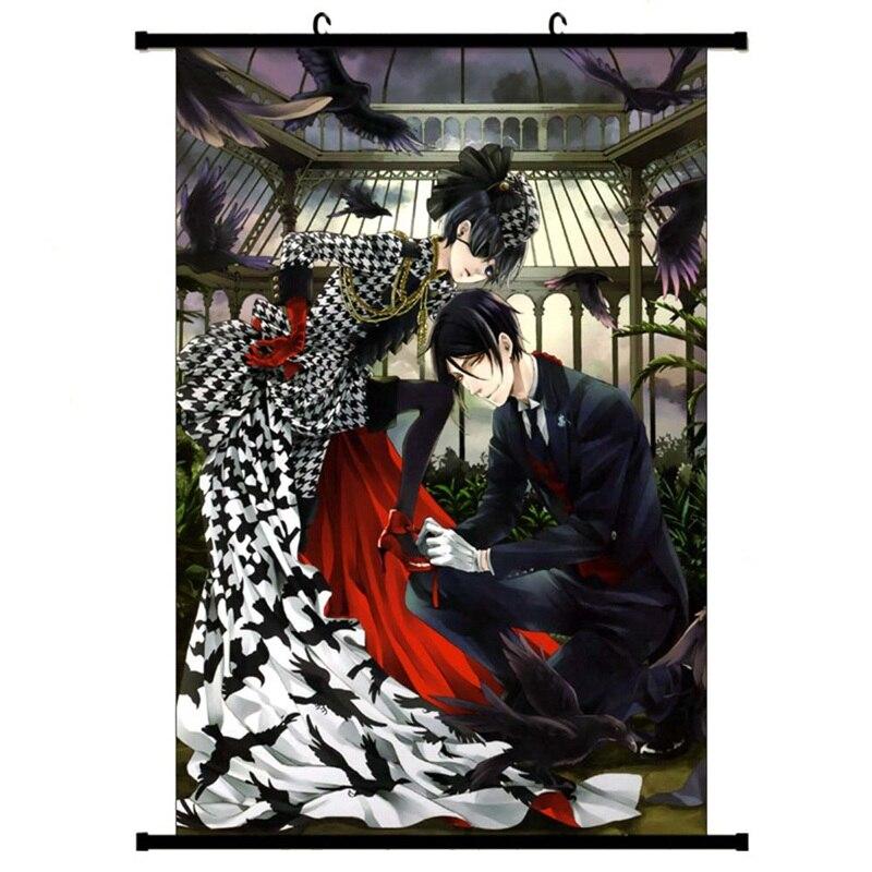 Us 272 Anime Manga Kuroshitsuji Black Butler Ciel Wall Scroll Painting Picture Wallpaper Stickers Poster 30x45cm4060cm6090cm On Aliexpress
