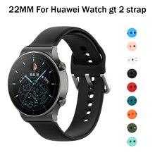Voor Huawei Gt2e Band Voor Honor Magic Horloge 2 46Mm Huawei Horloge Gt 2 2e Armband 22Mm Horloge band Voor Samsung Galaxy S3 Frontier