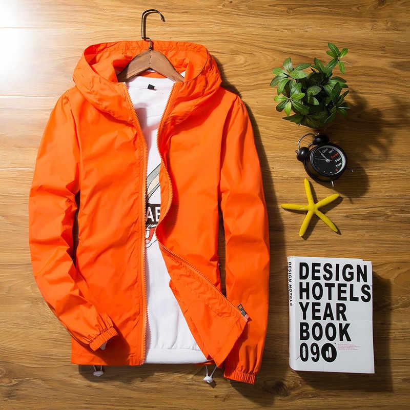 2020 女性のコート夏日焼けウインドブレーカージャケットプラスサイズの太陽保護衣類のカップル Casaco Feminino 薄型 KJ389