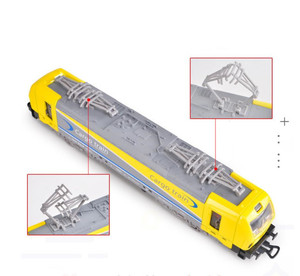 Image 5 - 1:32 alloy single section tram model,pull back train model,simulation of colorful lights,can open childrens toys