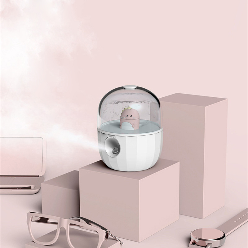 Cute Cartoon Doll Ultrasonic Air Humidifier Aroma Essential Oil Diffuser For Home Car USB Fogger Mist Maker Air Fresher