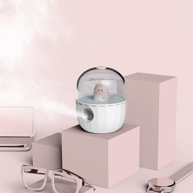 Cute Cartoon Doll Ultrasonic Air Humidifier Aroma Essential Oil Diffuser For Home Car USB Fogger Mist Maker Air Fresher