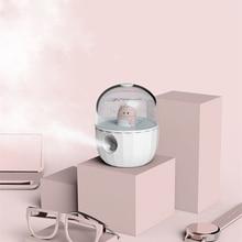 Dulce muñeca de dibujos animados humidificador de aire ultrasónico difusor de aceites esenciales para el hogar coche USB nebulizador fabricante de niebla más fresco