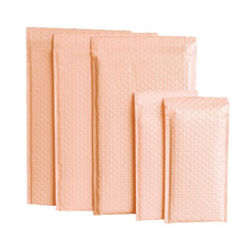 20pcs Lotus Pink Bubble Clothes Bag Poly Bubble Bubble Mailer Padded Shipping Mailing Envelope Poly Mailer Bags For Packaging