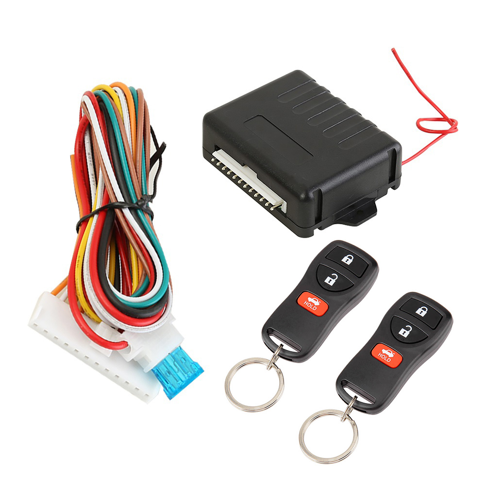 Practical Universal Car Remote Central Door Lock Kit Keyless Entry Alarm System 410/T109 Car Supplies Accessaries