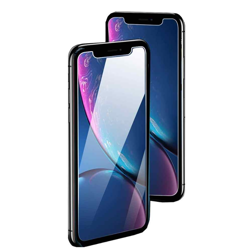 3 pçs vidro de cobertura completa no para iphone x xs max xr vidro temperado para iphone 7 8 6s plus 5 5S se 11 pro protetor de tela