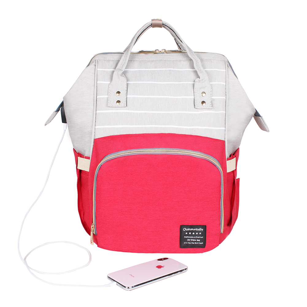 Red Gray Mix USB