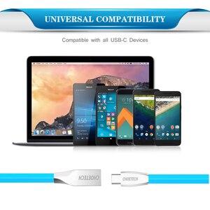 Image 3 - CHOETECH C tipi kablo USB A erkek USB C için hızlı şarj C tipi samsung USB kablosu S9/S8/not 8 bir artı cep telefonu kabloları