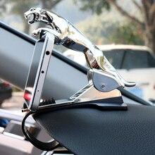 Car Leopard Shaped Phone Holder Clip Adjustable Car