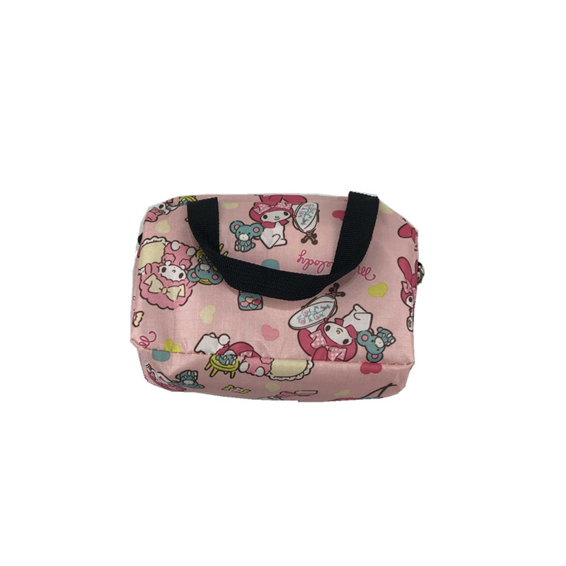 IVYYE 1PCS Stitch Melody Fashion Anime Portable Travel Bag Reusable Tote Foldable Handbags Luggage Pouch Storage Bags NEW