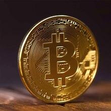 Antigo imitação de moedas de prata bitcoin coleção arte banhado a ouro bitcoins físicos bitcoins bitcoin btc com caso presente físico metal