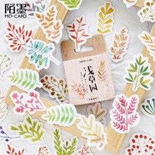 45 Pcs/lot Grass Garden Sticker Decoration DIY Scrapbooking Sticker Stationery Kawaii Handbook Notes Decorative Stickers