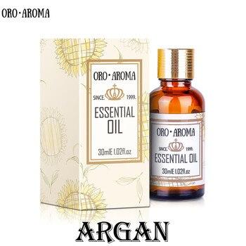 Famous brand oroaroma natural Argan Morocco nut oil essential oil Dry hair repair and bifurcation reduce dandruff Argan oil 1