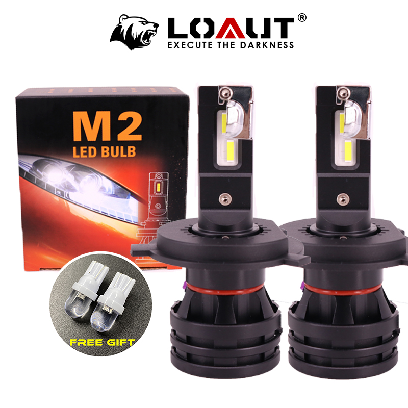 100W 10000LM M2 H4 H7 H8 H11 h13 автомобиля светодиодный головной светильник s лампы Противотуманные фары светильник H7 H11 H8 9005 9006 H1 880 Автомобильный светод...