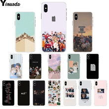 Yinuoda nct 127 kpop 소프트 실리콘 tpu 전화 커버 for iphone 8 7 6 6 s plus 5 5 s se xr x xs max coque shell(China)