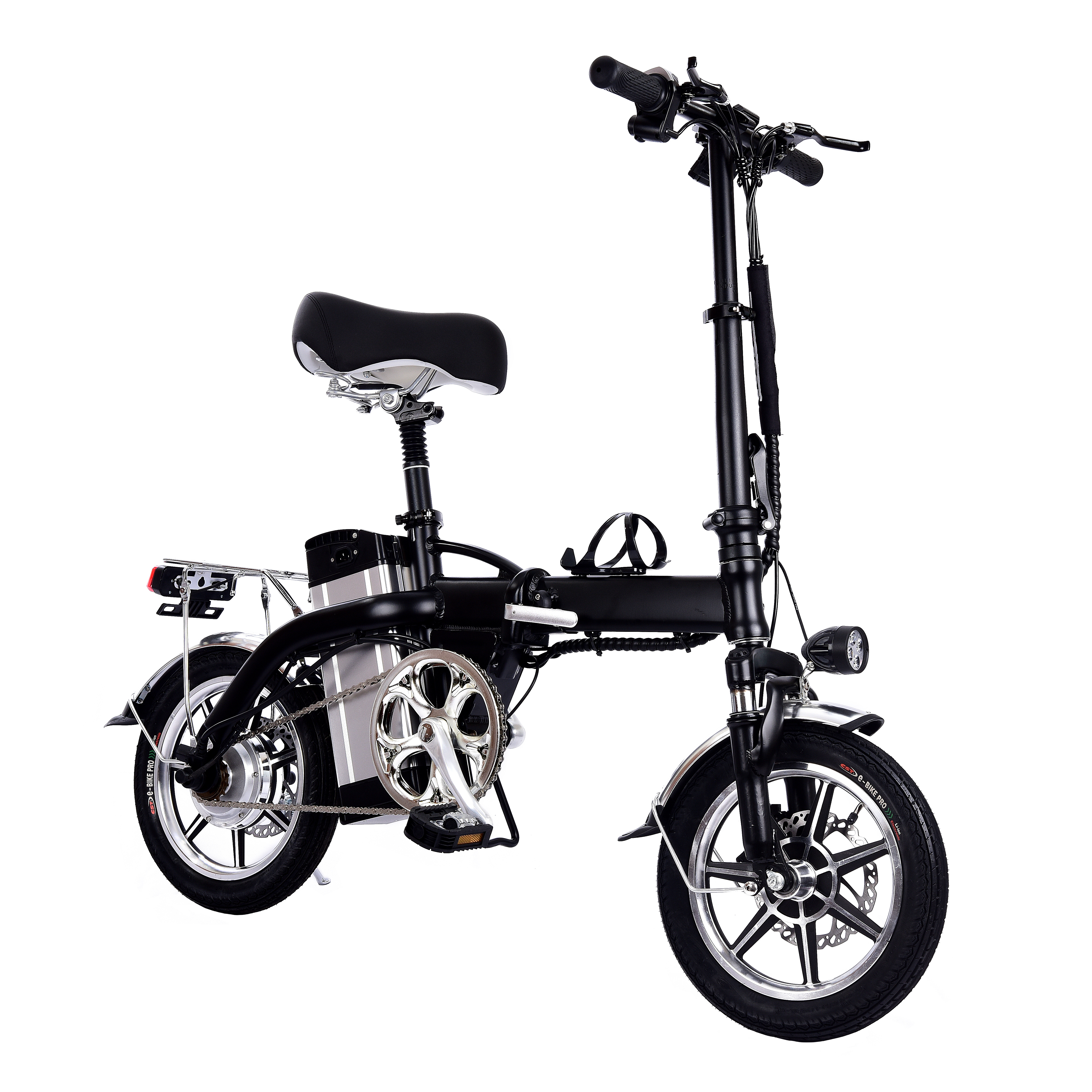 Portable Electric Scooter Folding 2 Wheels Electric Bicycle 10Ah 14 Inch 350W 48V Max 25KM/H Adults Electric Bicycle