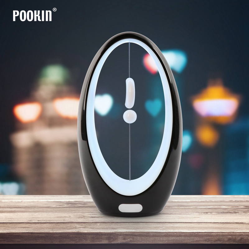 Creative LED Induction Magnetic Levitation Night Light Atmosphere Lamp For Bedroom Living Room Home Decoration Colorful Light