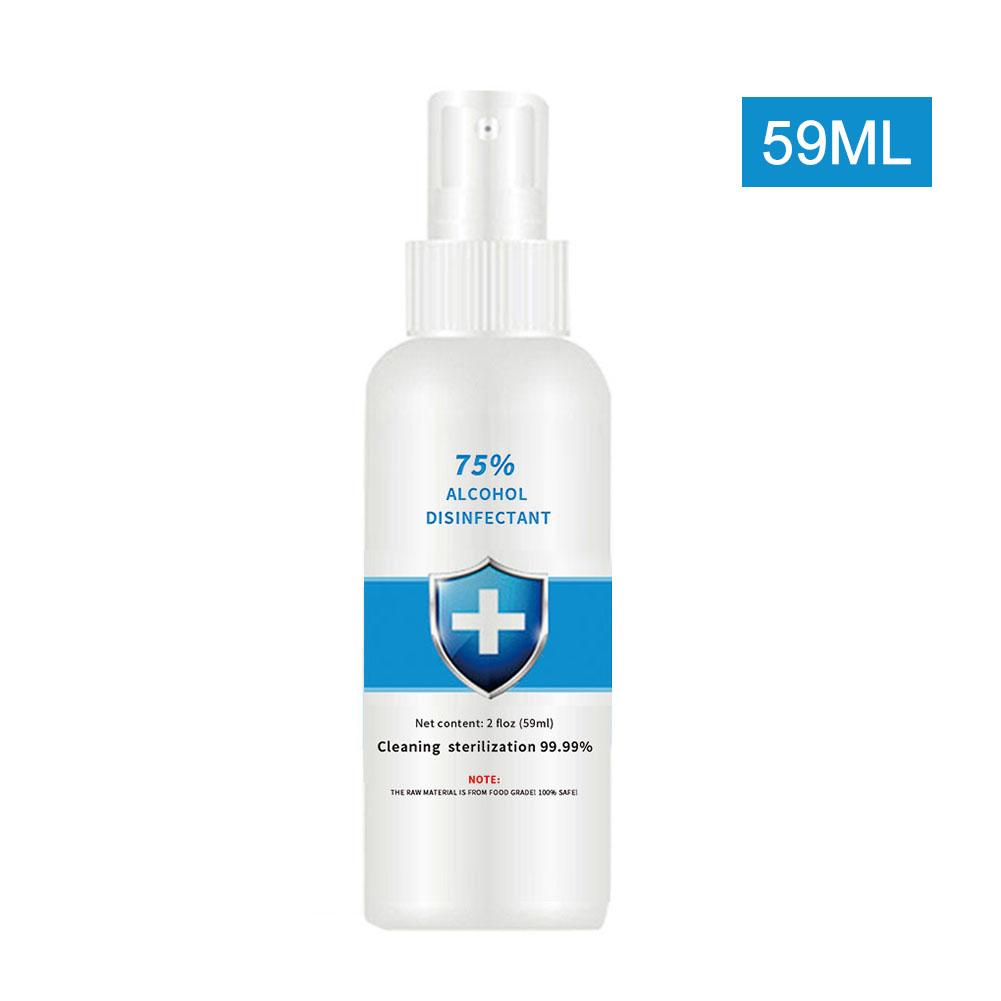 100ml antibacterial disinfection spray alcohol-free disposable hand sterilizer germicidal spray home disinfection clean wormwood