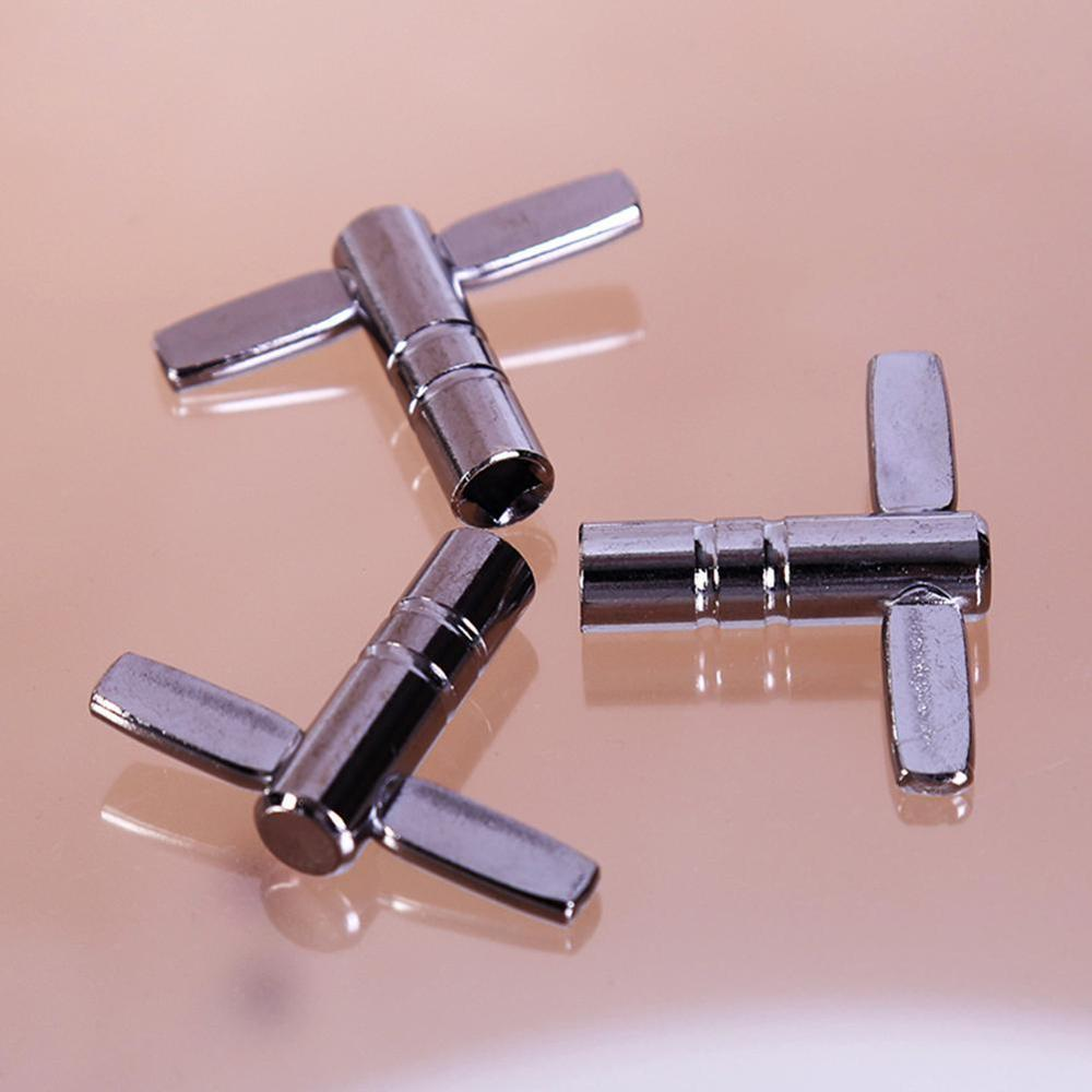 Drum Tuning Key Adjustment Wrench Silver Metal Percussion Accessories Tool S7B1