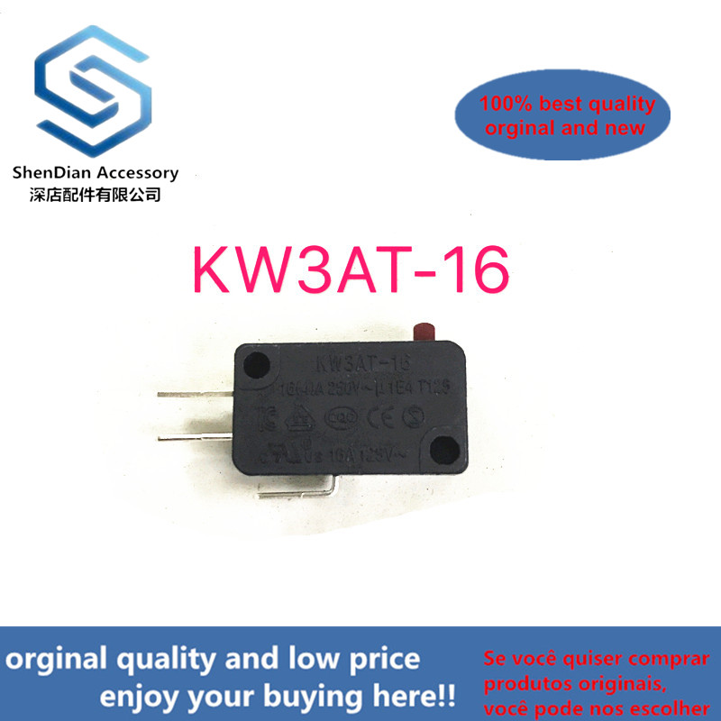 1pcss 100% New And Orginal 5E4 Times Ultra-durable Rice Cooker Microwave Micro Switch Contact Tact Switch KW3AT-16
