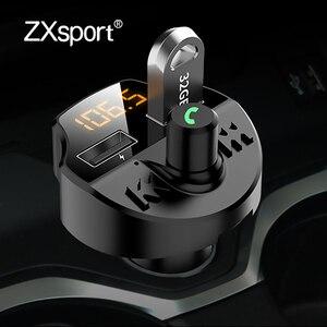 Автомобильный fm-передатчик, Bluetooth 5,0, беспроводная гарнитура, аудио приемник для Audi A4 B6 B8 B7 A6 C5 C6 C7 A3 A5 Q3 Q5 Q7, аксессуары