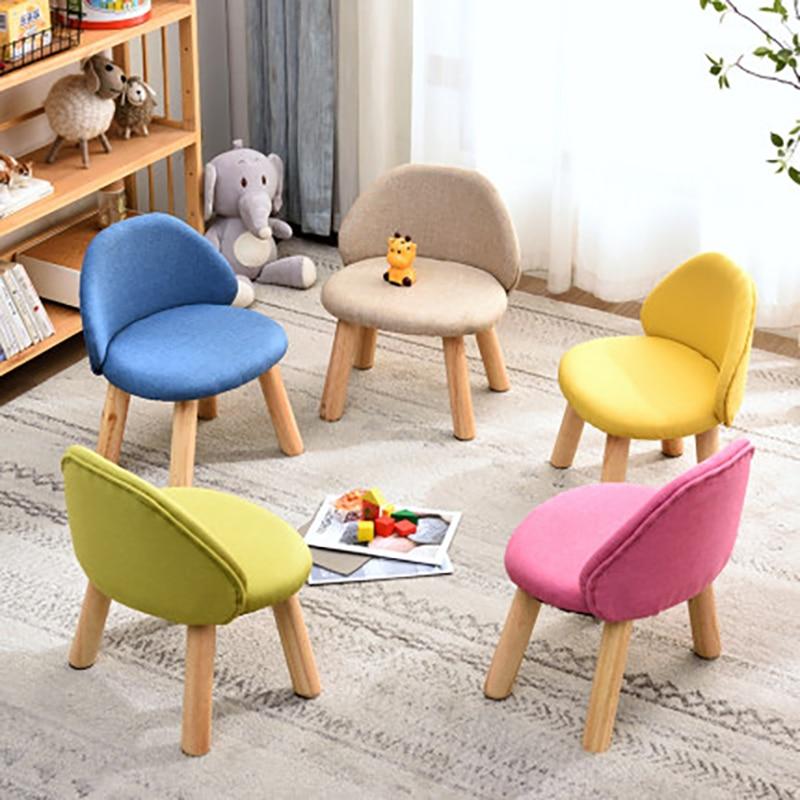 Kids Chair Sillas De Comedor стулья для столовой Taburete Madera Folding Stool Chaise Haute bébé детский стол Tabouret Enfant