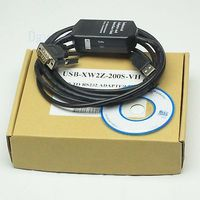 DHL/EMS 5 مجموعات * USB XW2Z 200S VH مبرمج كابل يو إس بي إلى RS232 محول ل ل OM RON CQM1H CPM2C PLC h2|ملحقات البطارية وملحقات الشاحن|الأجهزة الإلكترونية الاستهلاكية -