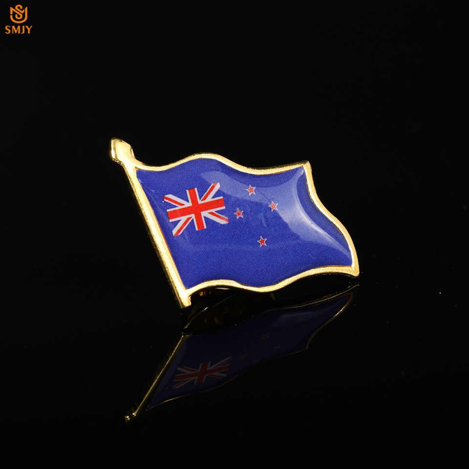 Puchar świata Oceania godło narodowe odznaka nowa zelandia bandera broszka przypinka duża impreza specjalna odznaka biżuteria