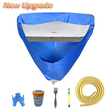 Air Conditioning Cover Wall Mounted Air Conditioner Cleaning Washing Protective Covers Waterproof Leakproof Cleaner Bag