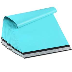 Bags Envelopes Poly-Mailers Teal Green 100pcs Couture 15x23cm/6x9inch