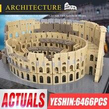 Yeshin 22002 building block giocattoli in mattoni modello 6544 pezzi il colossMOC 49020 puzzle per bambini assemblaggio regalo di natale 5225