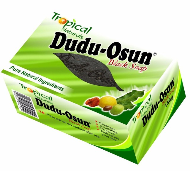 150g Tropical Dudu Osun African Natural Black Soap with Natural Ingredient African Soap Shea moisture Noir Honey Cocoa Aloe 1