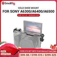Monture de relocalisation de chaussures froides pour Sony A6100 / A6300 / A6400 / A6500 w/ 2 monture de chaussures froides pour Options de Microphone bricolage 2334