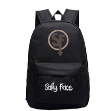 Sally face Backpack cartoon School Bag  School Backpacks Girls Boys Toddler Bag Kids mochila Book Bags neko atsume backpack for teenagers girls cartoon cat backyard print school bags daily bag women travel bag kids school backpacks