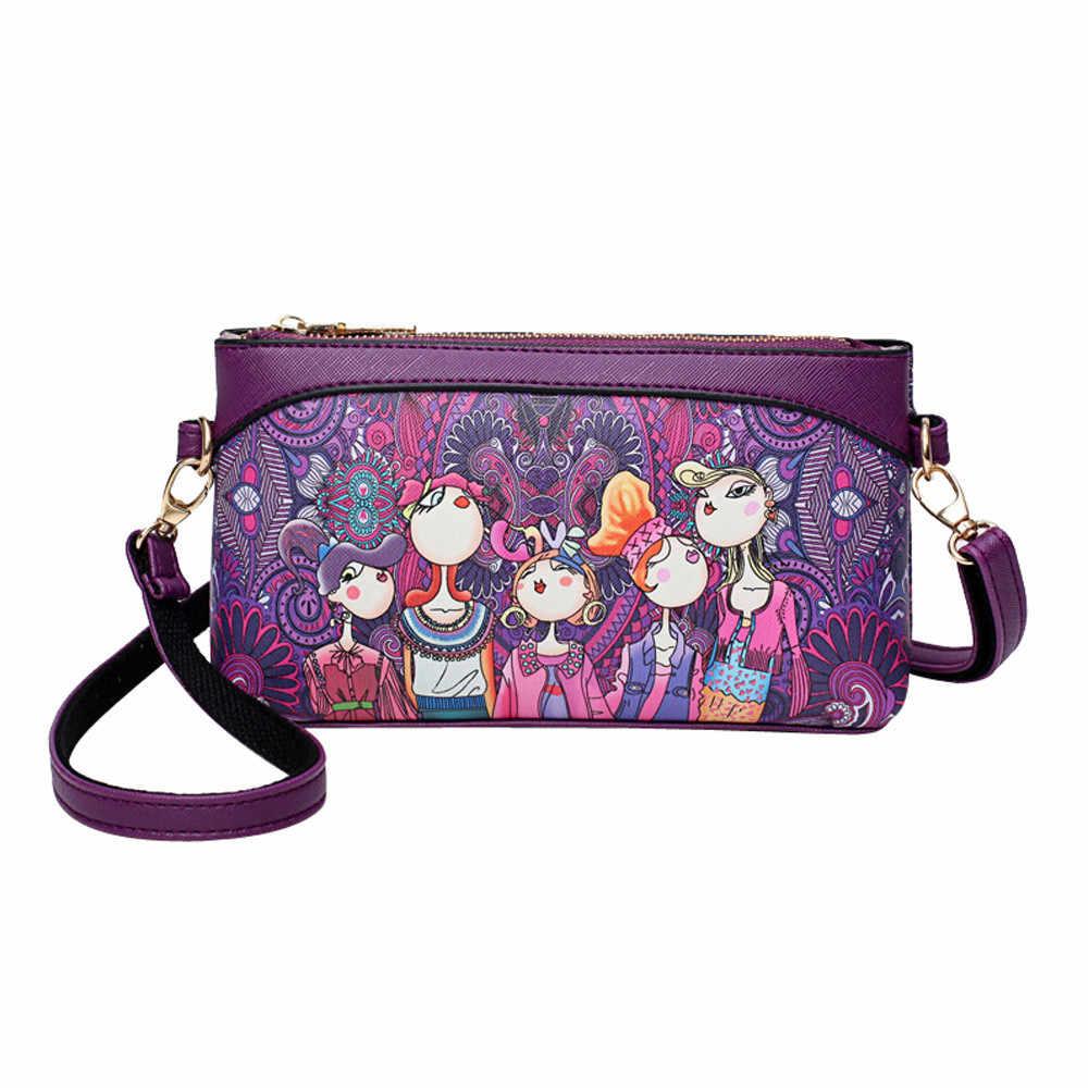 Женская сумка на одно плечо для отдыха с рисунком леса, на молнии, простая, уникальная, кожаная, с граффити, поп H1