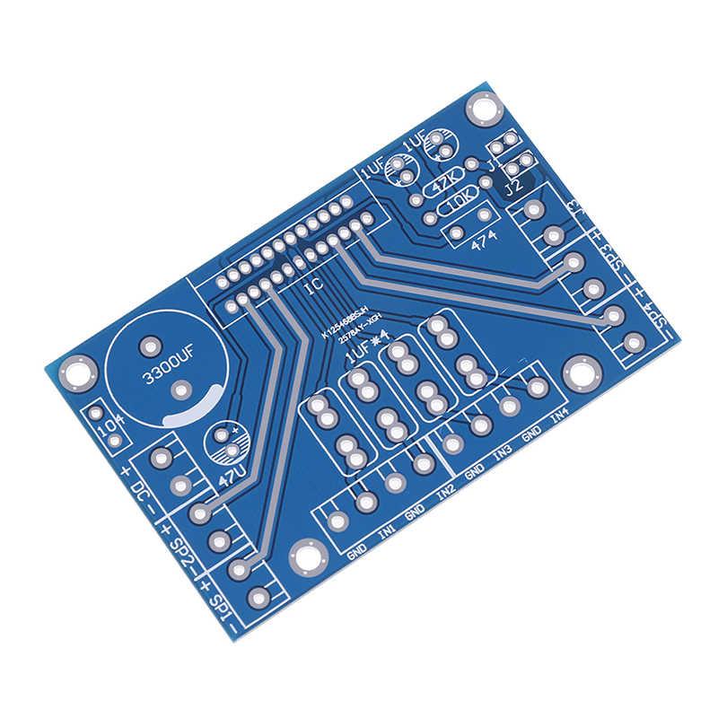 Power Verstärker TDA7388 Vier Kanal 4x41W Audio DC 12V BTL PC Auto AMP PCB Nackten Bord