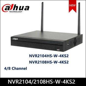 Dahua WIFI NVR NVR2104HS-W-4KS2 NVR2108HS-W-4KS2 4/8 Channel Compact 1U Lite 4K H.265 Wireless WIFI Network Video Recorder