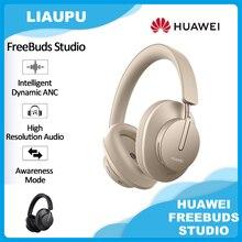 Huawei freebuds estúdio versão global bluetooth audiófilo fones de ouvido sem fio tws hi-fi tipo c fone de ouvido jogos com