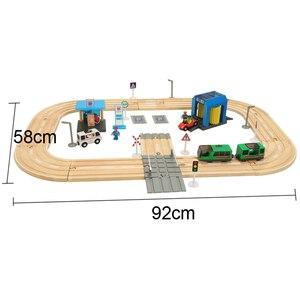 Electric Train Track Set Build
