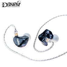 DUNU DM480 8mm Titanium Dynamic Drivers In-ear Earphone IEM 3D Printed Shell with 2-Pin/0.78mm Detachable Cable