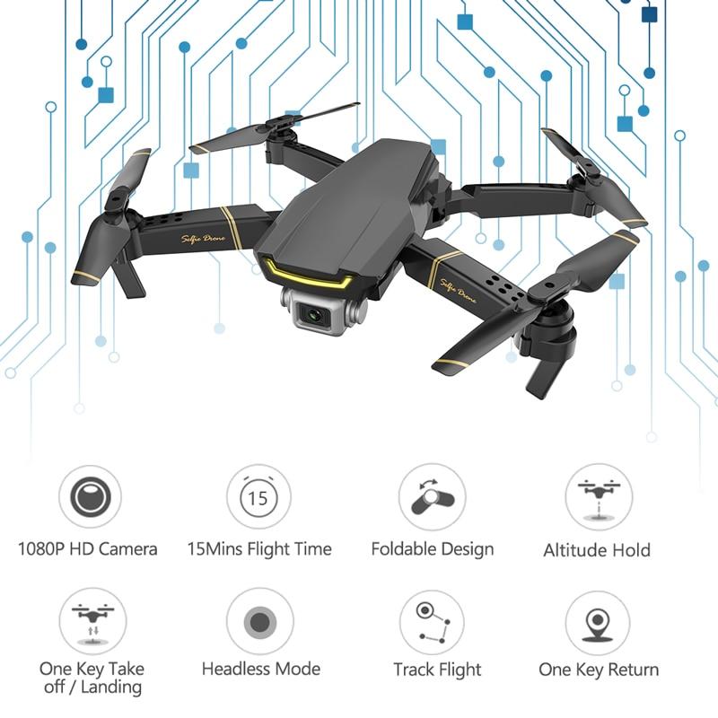Global Drone GW89 WIFI FPV with HD 1080P Camera Dropship RC Helicopter Toys for Kids Quadcopter Drone X Pro RTF Dron VS E58 E520 1