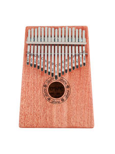 Sticker-Kit Hammer Mahogany Musical-Instruments Mbira Thumb-Piano Kalimba Portable Beginners