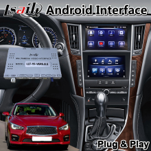Video-Interface Multimedia Gps-Navigation Lsailt Android for Infiniti Q50 with 32GB-ROM